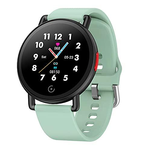 ZYDZ G22 Color Screen Smart Watch Monitorea automáticamente la frecuencia cardíaca de Todo el día y el Reloj Inteligente de la presión Arterial, Adecuada para Android iOS,A