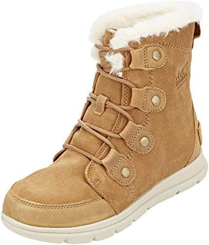 Sorel Expl**** Joan Stiefel Damen Camel Brown/Ancient fossil Schuhgröße US 7 | EU 38 2020