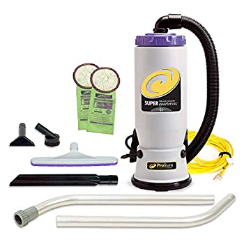 ProTeam Backpack Vacuums, Super QuarterVac Commercial Backpack Vacuum Cleaner Review