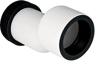 Geberit Set – Rechte Connector Toilet Geberit Opgeschort, 3 cm Hoogte Verschil: BL Anco Alpine (131.085.11.1)