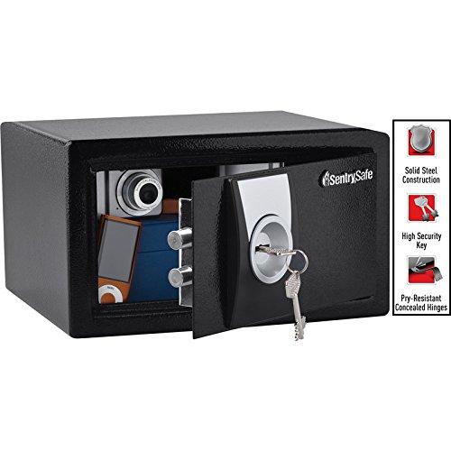 Sentry Safe - Caja fuerte de seguridad con bloqueo de llave