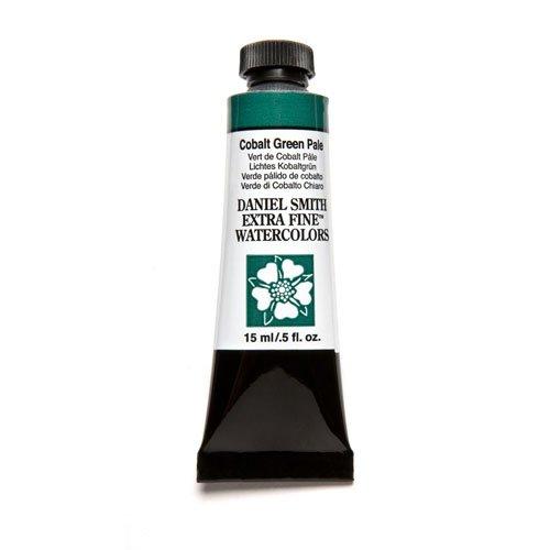 DANIEL SMITH Extra Fine Watercolor Paint, 15ml Tube, Cobalt Green Pale, 284600027