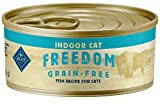 Blue Buffalo Freedom Grain Free Natural Adult Pate Wet Cat Food Indoor...