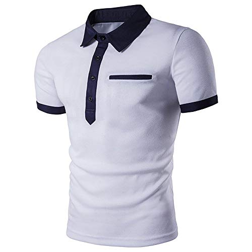 Willlly heren knoopsluiting poloshirt zomer casual casual tops chic revers korte mouwen T-shirt ademend polohemd slim fit basic