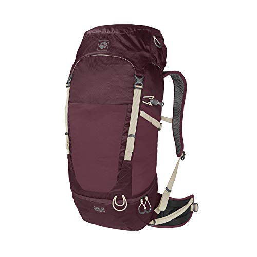 Jack Wolfskin Kalari Trail 36 Pack Rugzak, unisex, port wine, one size