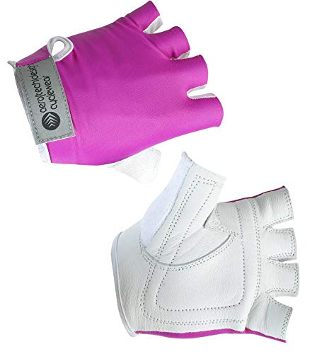AERO|TECH|DESIGNS Child Bike Gloves in Pink X-Large (10-12)
