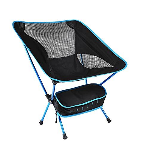 Rucksackreisen Stühle – kompakter, ultraleichter Klappstuhl für Camping, Picknick, Wandern, Strand (himmelblau)