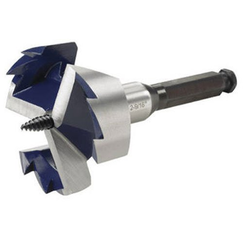IRWIN Drill Bit, 3-Cutter, Self Feed, 2-9/16-Inch (3046013)