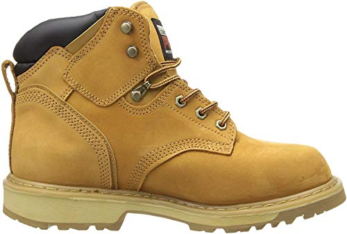 Timberland PRO Men's Pitboss 6″ Soft-Toe Boot,Wheat,8 M