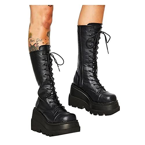 HOTSUM 2021 damen stiefeletten mit absatz Leder Stiefel Damen Sexy schuhe damen stiefeletten absatz damen stiefeletten mit absatz sommer Desert Boots As Stiefel Damen