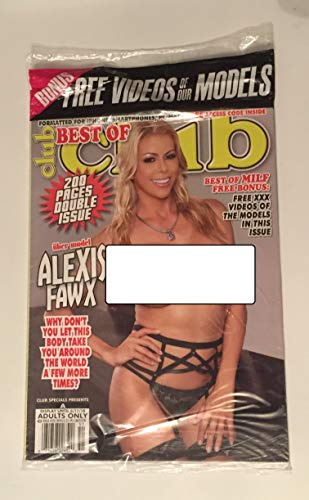 Best of Club Adult Magazine Issue 351 Alexis Fawx cover