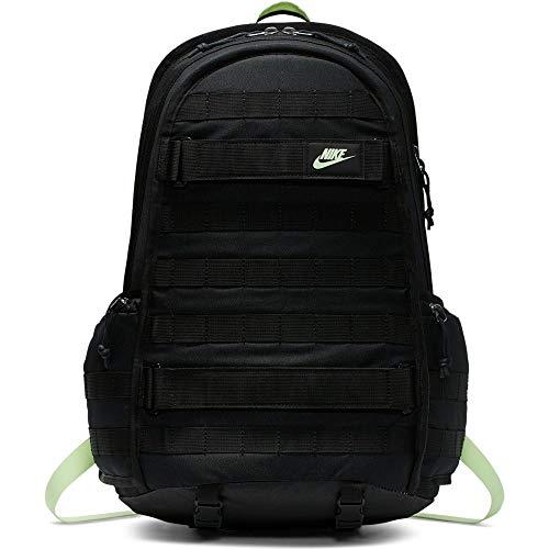 Nike Herren NK RPM BKPK - NSW Sports Backpack, Black/Black/Barely Volt, 53 cm