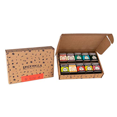 Spicewalla Grill Seasoning 10 Pack | Seasonings and Rubs for Steak, Poultry, Pork & Vegetables | Grilling Spices Set
