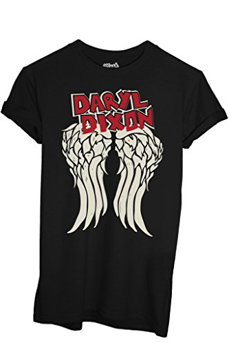 MUSH T-Shirt Daryl Dixon The Walking Dead - Film by Dress Your Style - Donna-M-Nera