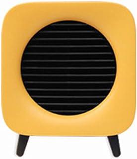 AZBYC Mini Calefactor Eléctrico Portatil- Calefactor De Ventilador Eléctrico, Protección de Alta Temperatura, diseño de Mango, Ajuste de Engranajes Alto y bajo