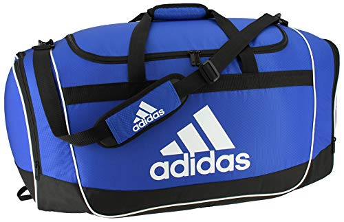 adidas Unisex Defender II Small Duffel Bag, Bold Blue, ONE SIZE