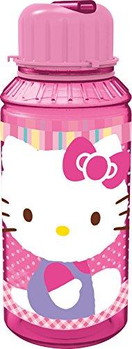 Stor 52732 - Botella de tritan pequeña, 450 ml, diseño Hello Kitty