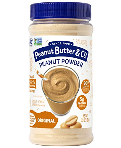 Peanut Butter & Co. Original Peanut Powder, Non-GMO Project Verified, Gluten Free, Vegan, 6.5 oz Jar