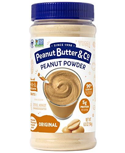 Peanut Butter amp Co Original Peanut Powder NonGMO Project Verified Gluten Free Vegan 65 oz Jar