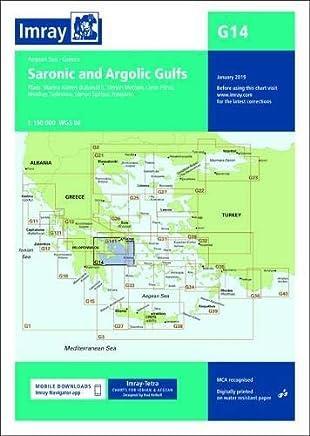 Imray Chart G14: Saronic and Argolic Gulfs