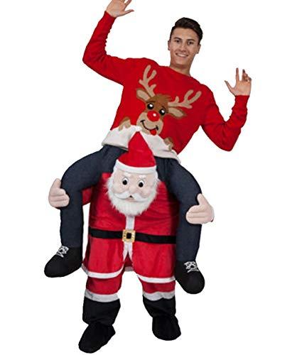 OMUUTR Unisex Hosen Jumpsuit Huckepack Tragen Witzig Kostüm Cosplay Plüsch Inflatable Tier-Kostüm Carnival Funny Clothes Mit selbst füllen Beine Party Oktoberfest Halloween Weihnachten
