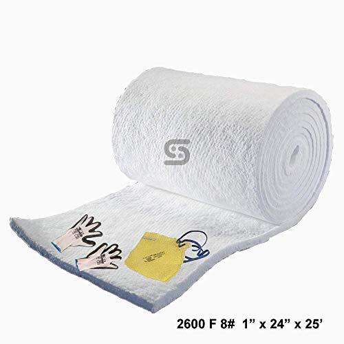 Ceramic Fiber Blanket 8# Density, 2600F (1