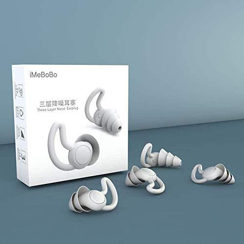 ear plugs HXF- Earplug Soft Foam Earplugs Perfect for Sleeping Snoring Studying Loud Events Traveling Silicone Earplug Fashion