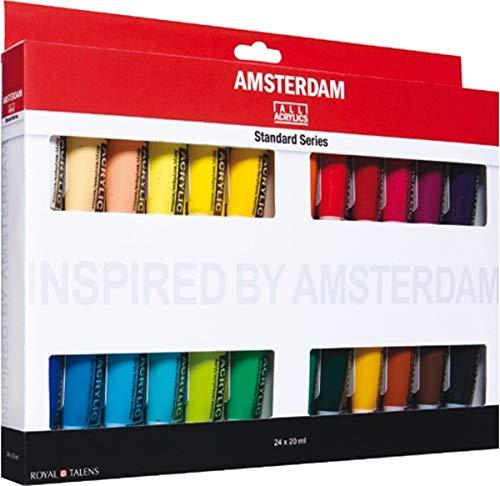 çmsterdam acr'lico 20Ml 24 Color Configurar