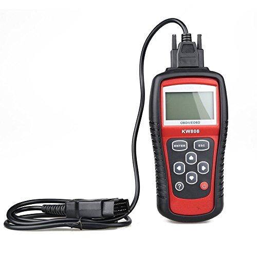 KONNWEI KW808 OBDII/EOBD lector de códigos Auto trabajan para nosotros, asiáticas y coches europeos KONNWEI KW808 escáner de código