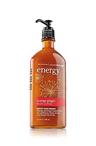 Bath and Body Works Aromatherapy Body Lotion Energy - Orange Ginger - 6.5 fl oz / 192 mL