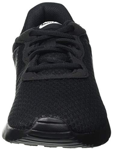 Nike Tanjun, Sneaker Mujer, Black/Black-White, 38 EU