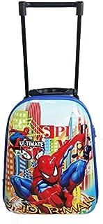 NameStore(TM) Marvel Comics Spiderman Kid Child Trolley Suitcase Travel Luggage School Bag