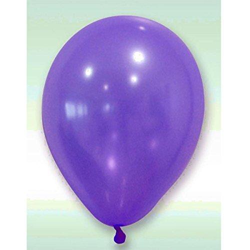 Visiodirect Lot de 288 Ballons nacrés Coloris Prune - 30 Cm