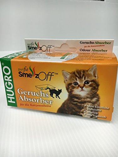 SmellzOff Geruchsabsorber für die Katzentoilette, 2er Set von Hugro