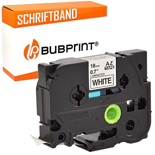 Bubprint Schriftband kompatibel für brother TZE-241 TZE 241 für P-Touch 1000 1750 1800 1850 1950 210E 220 2400 2430pc 2450dx 2460 2470 2480 2730 18mm