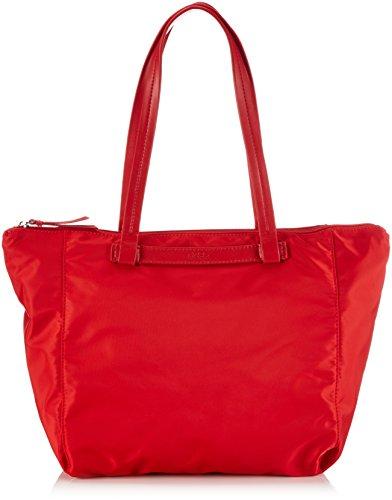 BREE Barcelona NYLON 9, rouge, zip tote 295150009 Damen Shopper 35x16x33 cm (B x H x T), Rot (rouge 150)