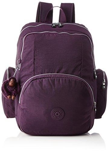 Kipling Courtney Mochila tipo casual, 42 cm, 26 litros, Color Morado (Plum Purple)