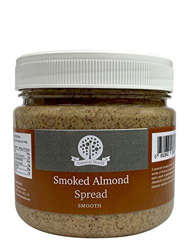 Nutural World - Krämig Rökt Mandelsmör (1kg)