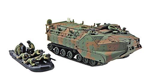 青島文化教材社 1/72 ミリタリーモデルキットシリーズ SP 陸上自衛隊 水陸両用車 (AAVC7A1 RAM/RS) 指揮通...
