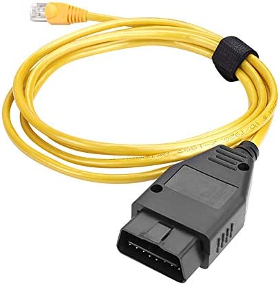 TekkPerry OBD to Ethernet E SYS Cable ENET RJ45 Cable ethernet Connector Tools OBDII OBD2 Interface product image