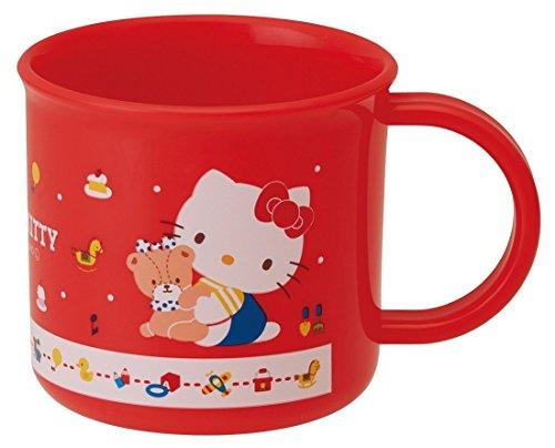 Skater Tasse en Plastique 200ml pour Enfants Made in Japan (Hello Kitty 80's 200ml)