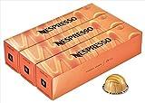 Nespresso VertuoLine (European Version) Barista Creations Flavored Coffee (7.7 ounce): Caramel Cookie, 30 Capsules