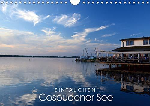EINTAUCHEN - Cospudener See (Wandkalender 2021 DIN A4 quer)