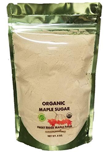 Frost Ridge Maple Farm, Organic Maple Sugar, Grade A, Half Pound (8 oz)