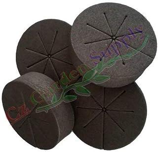 Cloning Collars Net Pot Inserts 25ct. Premium Grade Foam Better Than Neoprene. Fits 3 inch Net Cups/Pots for Hydroponics P...