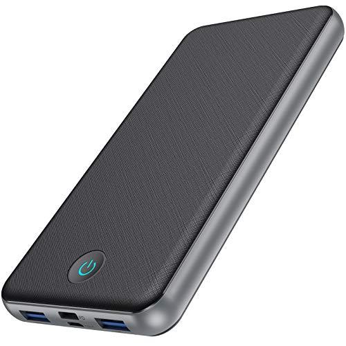 QTshine Power Bank 26800mAh,PD 3.0 18W Schnellladung Quick Charge QC 3.0 Power Delivery Schnellladefunktion 3-Ausgang & 2-Eingang Type-C Powerbank Leistungsstark für iPhone Samsung Huawei iPad