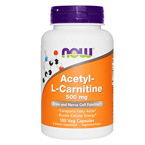 Now Foods - ACETYL L-CARNITINE 500mg - 100 veg caps