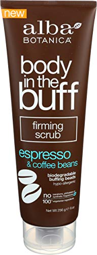 Alba Botanica - Body in the Buff Firming Scrub Espresso & Coffee Beans - 9 oz.