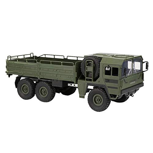 Starter Ferngesteuertes Militärfahrzeug, RC Auto Ferngesteuerte Militär LKW,JJRC Q64 Sechs Rad Fernbedienung Fahrwerk Geländewagen, 6 Drive Simulation Auto Modell 1:16 Kinderspielzeug