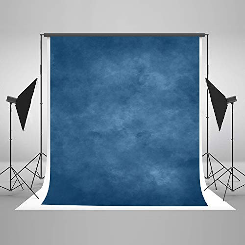 Kate 5x7ft Abstract Photography Backdrops Blue Portrait Backgrounds Studio Solid Blue Backdrops